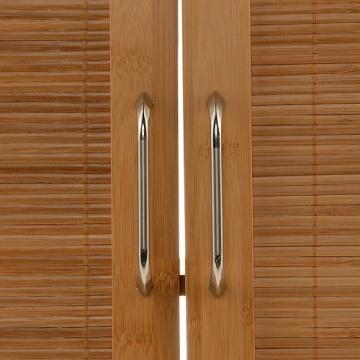 Waschtischunterschrank holz stehend massiv bambus