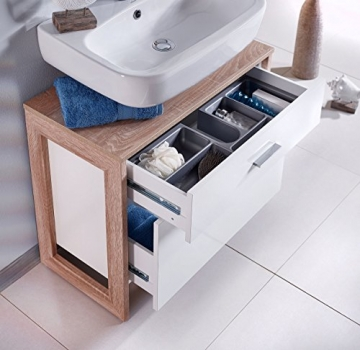 Waschbeckenunterschrank stehend  ᐅᐅ Schildmeyer Line up Waschbeckenunterschrank weiss stehend ...
